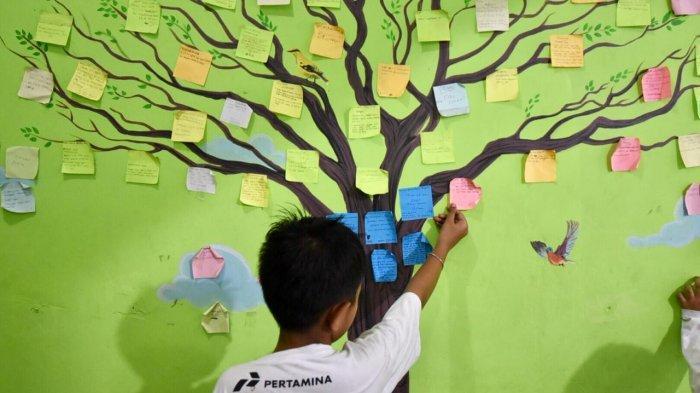 Peduli Pemulihan Korban Trauma, Pertamina Bangun Sekolah Anak Percaya Diri