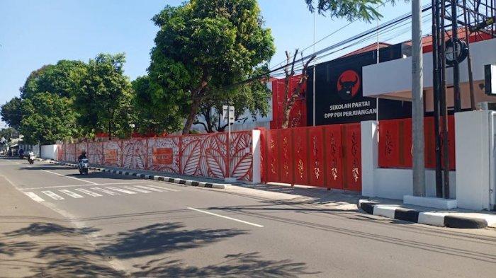 Kantor PDI Perjuangan Lenteng Agung Diubah Jadi Gedung Sekolah Partai