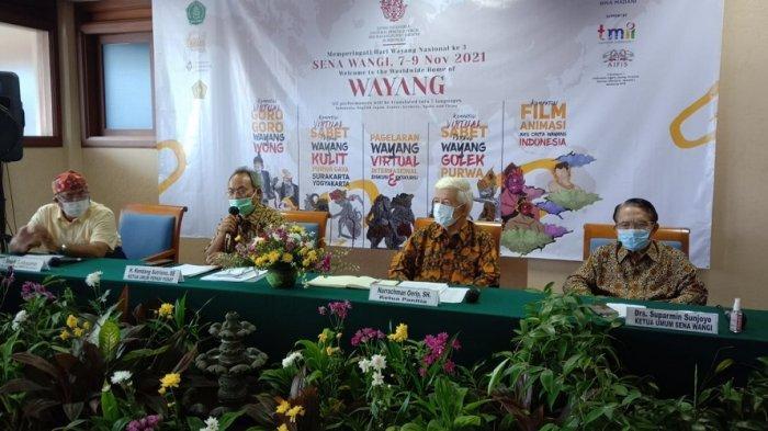Rayakan Hari Wayang Nasional, Sena Wangi Gelar Program 'Living ICH Forum for WPT in Indonesia 2021'