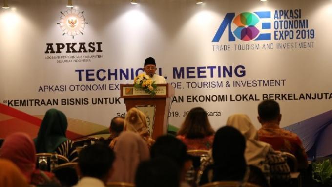 Gelar Rapat Teknis Jelang #AOE19, Apkasi akan Hadirkan Platform Digital Potensi Alam Indonesia