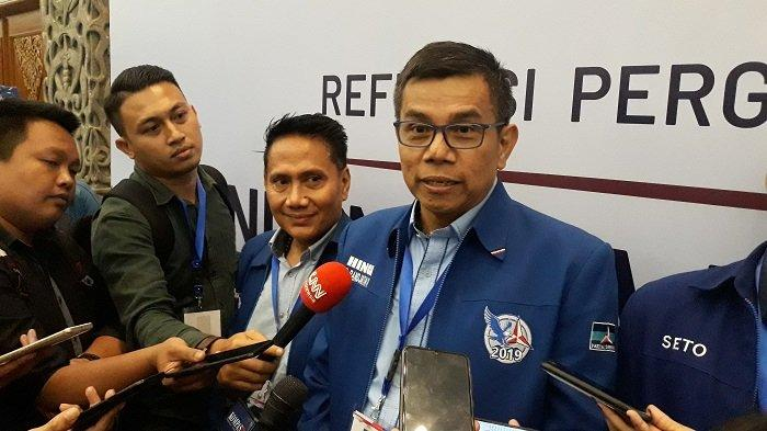 Jokowi Lantik Anggota Wantimpres, Ini Harapan Partai Demokrat