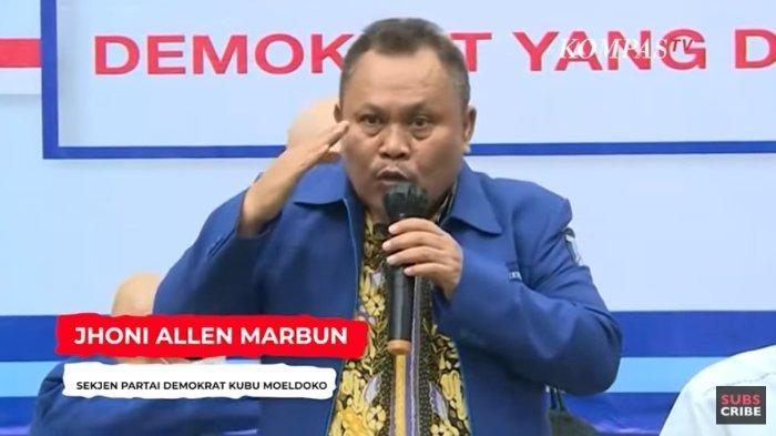 Sekretaris Jenderal Partai Demokrat versi KLB, Jhoni Allen Marbun