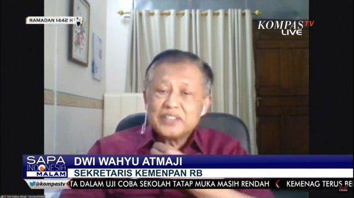 Sekretaris Kemenpan RB, Dwi Wahyu Atmaji