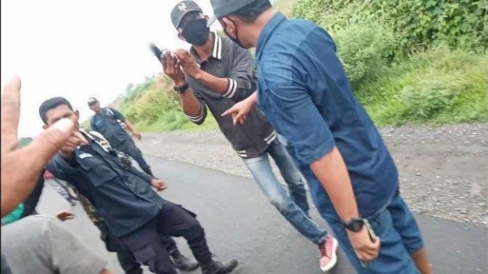 Polisi Tangkap Oknum Sekuriti di Deliserdang yang Todongkan Senjata Mirip Pistol kepada Warga