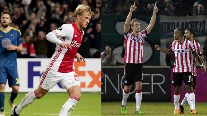 Selain Liga Inggris, Liga Belanda juga Ketat Berebut Gelar Juara: Ajax atau PSV?
