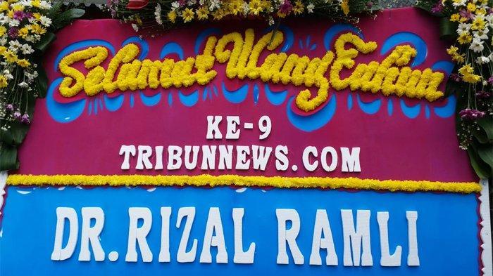 DR Rizal Ramli: Selamat Ulang Tahun Ke-9 Tribunnews.com