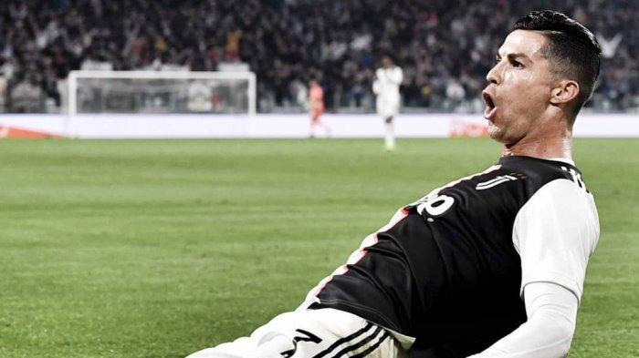 Selebrasi Cristiano Ronaldo ke Gawang Bologna (@juventus)