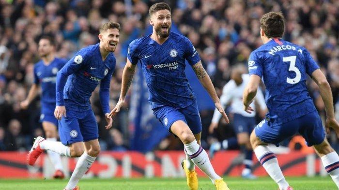 SEDANG BERLANGSUNG Live Streaming Arsenal vs Chelsea Piala FA: Adu Tajam Giroud-Aubameyang