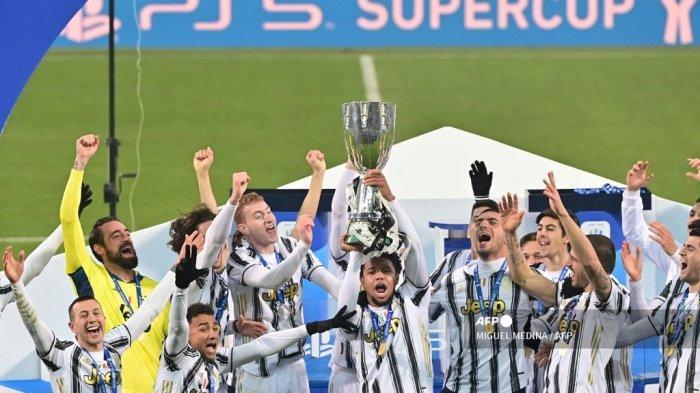 Juventus Juara Piala Super Italia, Ronaldo Beri Warning pada AC Milan & Inter soal Scudetto