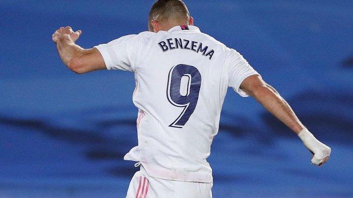 Hasil Babak Pertama Real Madrid vs Atalanta, Gol ke-70 Benzema Bawa Los Blancos Unggul