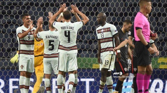 HASIL UEFA Nations League: Tak Perlu Cristiano Ronaldo Buat Portugal Bantai Kroasia 4-1