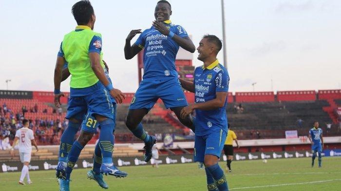 Hasil Babak Pertama Persib vs PSIS Liga 1 2019, King Eze bawa Maung Bandung Unggul 1-0