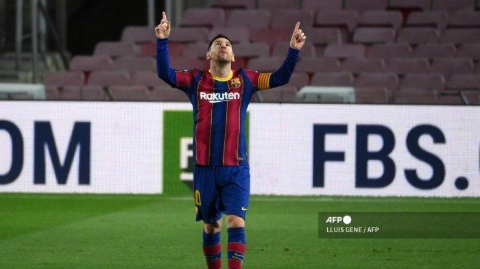 Tonggak Sejarah Lionel Messi Bersama Barcelona, Ciptakan Gol Free Kick Menawan ke Gawang Valencia