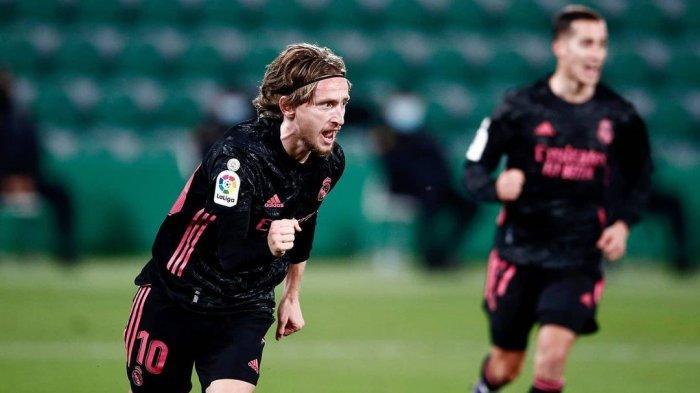 Cinta Mati dengan Real Madrid, Luka Modric Rela Gajinya Dipangkas Lagi oleh Los Blancos