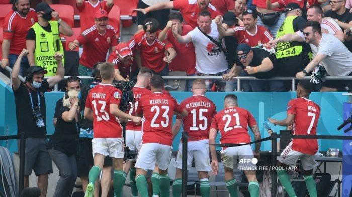 Hasil Hungaria vs Prancis Diwarnai Selebrasi Unik yang Libatkan Reporter di Pinggir Lapangan