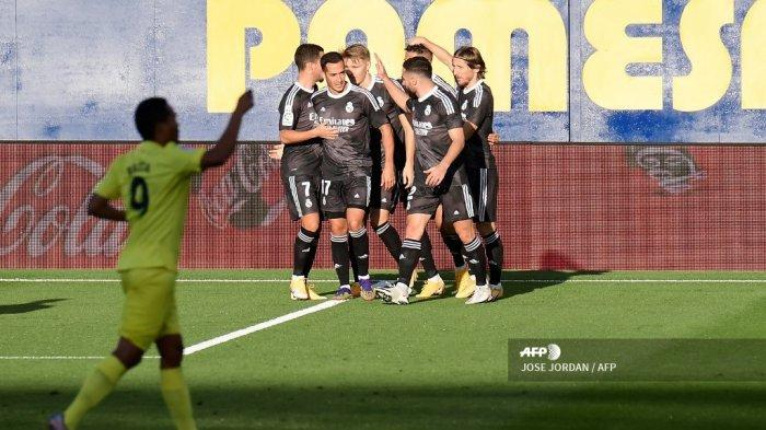 Hasil Babak I Villarreal vs Real Madrid, Gol Cepat Mariano Diaz Bawa Los Blancos Unggul