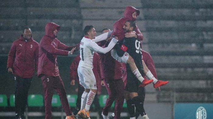 Komentar Pelatih AC Milan Seusai Bawa Timnya Lolos ke Liga Eropa, Pioli: Sangat Emosional!