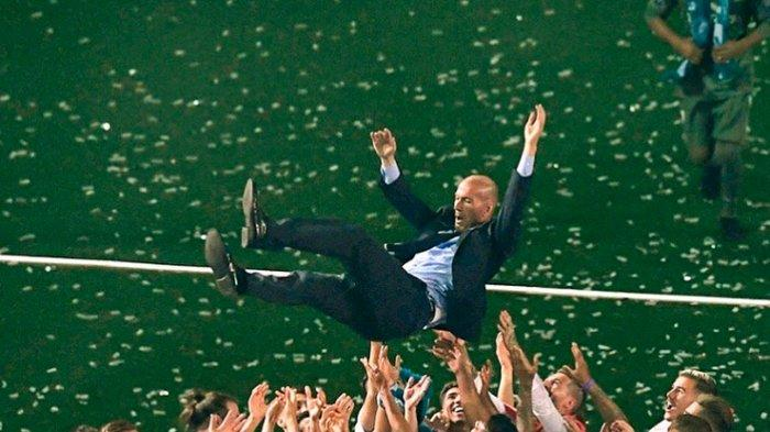 Selebrasi Zidane