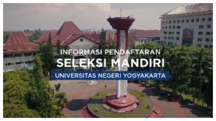 Seleksi Mandiri UNY 2021.