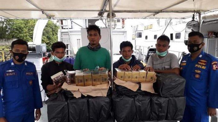 Penyelundupan Rokok Ilegal di Batam, Polisi Sita 2000 Bungkus Rokok yang Hendak Dibawa ke Malaysia