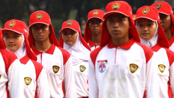 Gelar Gladi Kotor, Ini Daftar Nama Anggota Paskibraka Nasional 2019 dari 34 Provinsi, Siap Bertugas