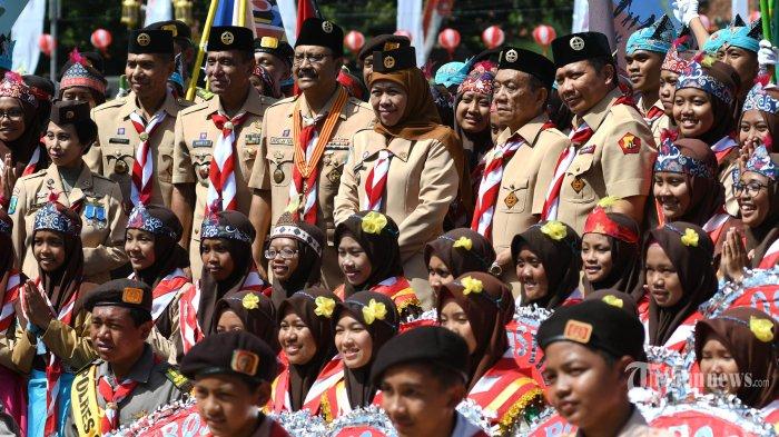 Respons Khofifah Saat Ditanyai Soal Tawaran Jadi Ketua DPD Partai Demokrat Jawa Timur, Tertarik?
