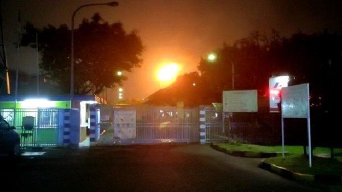 Viral Video Semburan Api dan Hawa Panas di Cikarang, Polisi Sebut Bukan Kebakaran