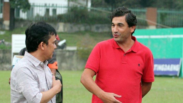 Semen Padang FC Datangkan Eduardo Almeida Sebagai Pelatih Kepala