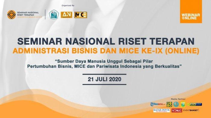 SDM Unggul Sebagai Pilar Bisnis, MICE, dan Pariwisata Indonesia yang Berkualitas