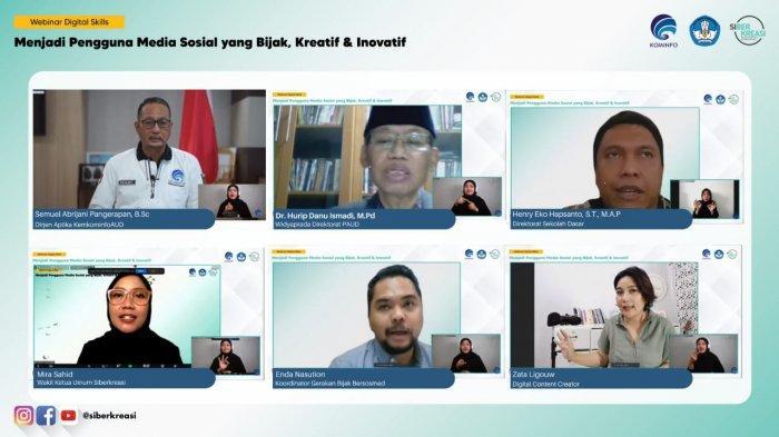 Kominfo dan Kemendikbud Ajak Orangtua Ajari Anak Bijak Gunakan Media Sosial