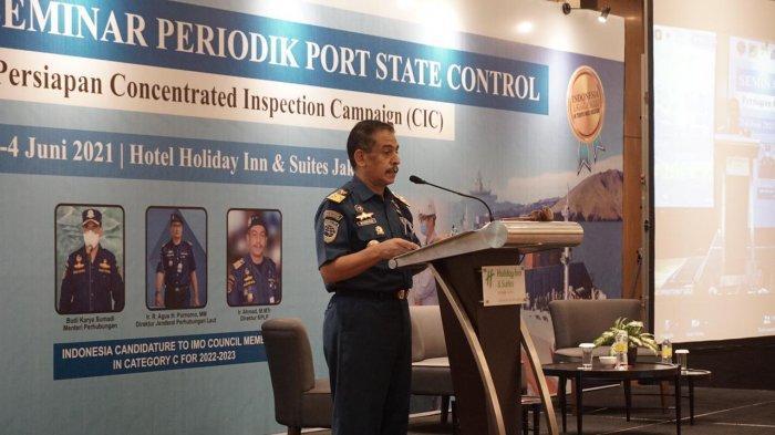 Tingkatkan Kompetensi Pemeriksaan Kapal Asing, Kemenhub Gelar Seminar Periodik Port State Control