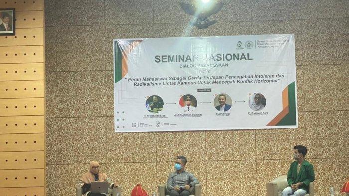 UIN Alauddin Gelar Seminar Nasional Bahas Ancaman Intoleransi Pecah Belah Mahasiswa dan Bangsa