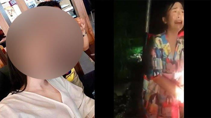 Heboh Istri Menangis karena Suami Tewas Diserang Perampok, Kini Viral Video Istri Diamankan Polisi