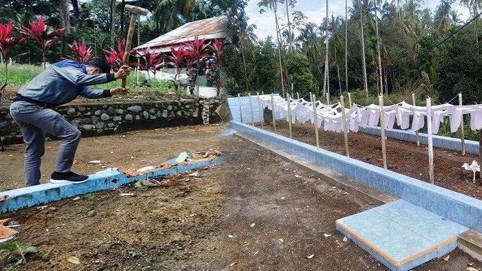 Sempat Viral di Medsos, Makam Sepanjang 10 Meter di Padang Pariaman Dibongkar, MUI Sebut Palsu