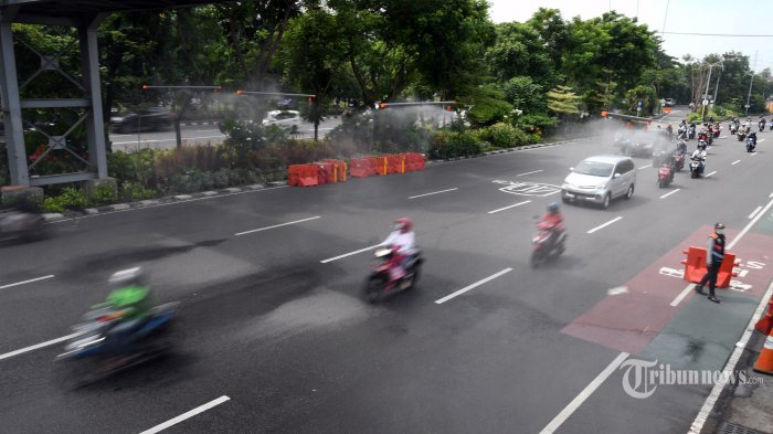 Besok, Sejumlah Ruas Jalan Ibu Kota Bakal Disemprot Disinfektan