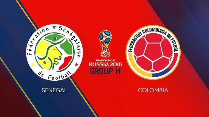 Jadwal Siaran Langsung (Live) Senegal vs Kolombia Piala Dunia 2018 di Trans 7 Malam Ini