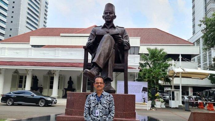 Cerita Seniman Yogyakarta Saat Buat Patung Bung Karno di Lemhanas, Sempat Mimpi Hal-hal Gaib