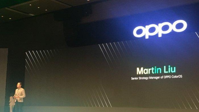Senior Strategy Manager of Oppo ColorOS, Martin Liu