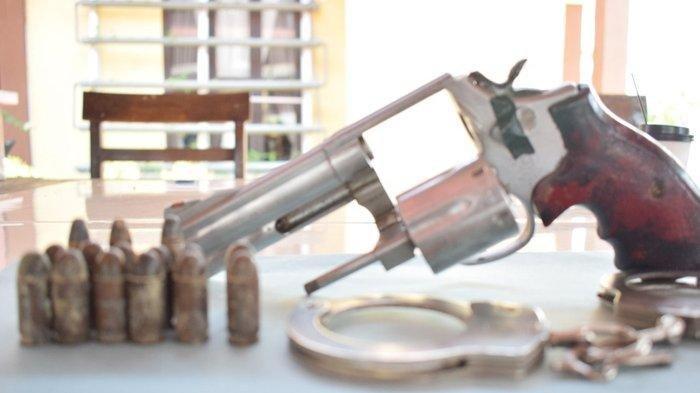 Polres Bireuen Amankan Senjata Api dan 17 Amunisi di Samalanga, Pemiliknya Kabur