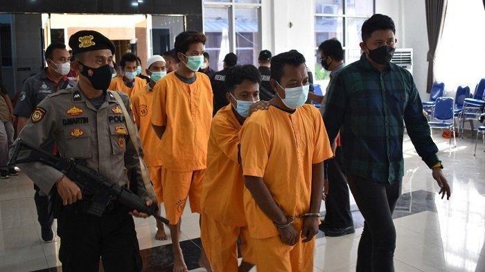 Polisi Tangkap Pelaku Penodongan Menggunakan Senpi Rakitan yang Berbaju Resmob di Musi Banyuasin