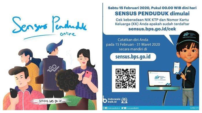 Sensus Penduduk Online 2020 di Link sensus.bps.go.id, Siapkan NIK dan Nomor KK hingga Unduh Buktinya