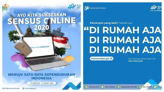 Sensus Penduduk Online 2020 di sensus.bps.go.id Sebelum 31 Maret, Bisa dari Rumah & Cuma 5 Menit