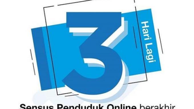 Sensus Penduduk Online 2020 Berakhir 29 Mei, Segera Isi di sensus.bps.go.id, Cukup 5 menit