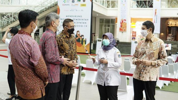 MUFG Bersama Danamon dan Adira Finance Buka Sentra Vaksinasi di Epicentrum Jakarta