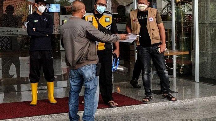 Positif Covid-19, Anggota DPRD dari Belitung Nekat Terbang ke Pangkalpinang dan Chek In di Hotel