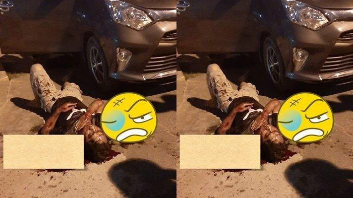 Driver Gocar Dibegal di Demang Lebar Daun Palembang, Terkapar di Jalan dan Mandi Darah