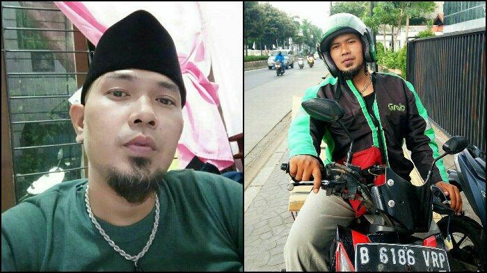 Seorang driver ojol bernama Choky S Butar Butar viral di sosial media karena mirip dengan Ahmad Dhani, ia mengaku ingin berduet bersama sang musisi. (Tribunnews/Istimewa)