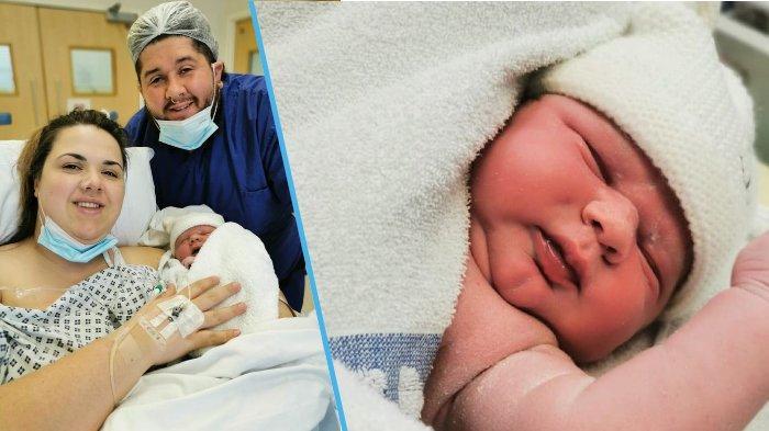 Ibu asal Inggris Lahirkan Bayi Besar dengan Berat 5,8 kg, saat Hamil Justru Tak Nafsu Makan