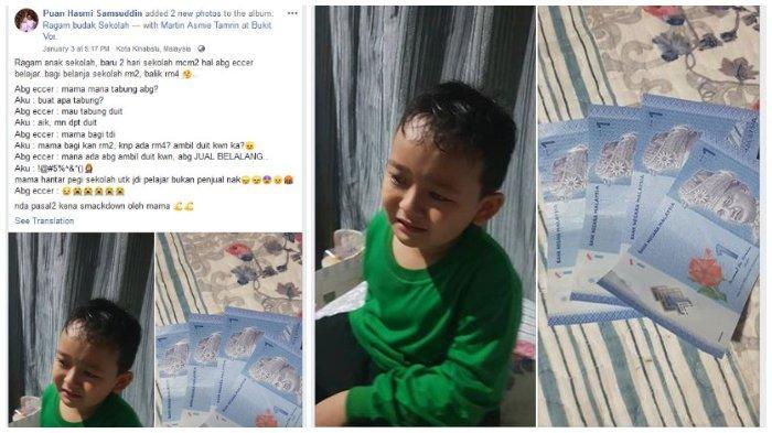 VIRAL Bocah 7 Tahun Dicurigai Ibunya Mencuri Uang di Sekolah, Ternyata Ia Berjualan