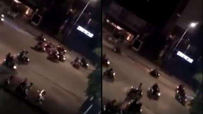 Aksi Geng Motor 69 Acungkan Senjata Tajam di Semarang, Tiga Anggotanya Digelandang Polisi